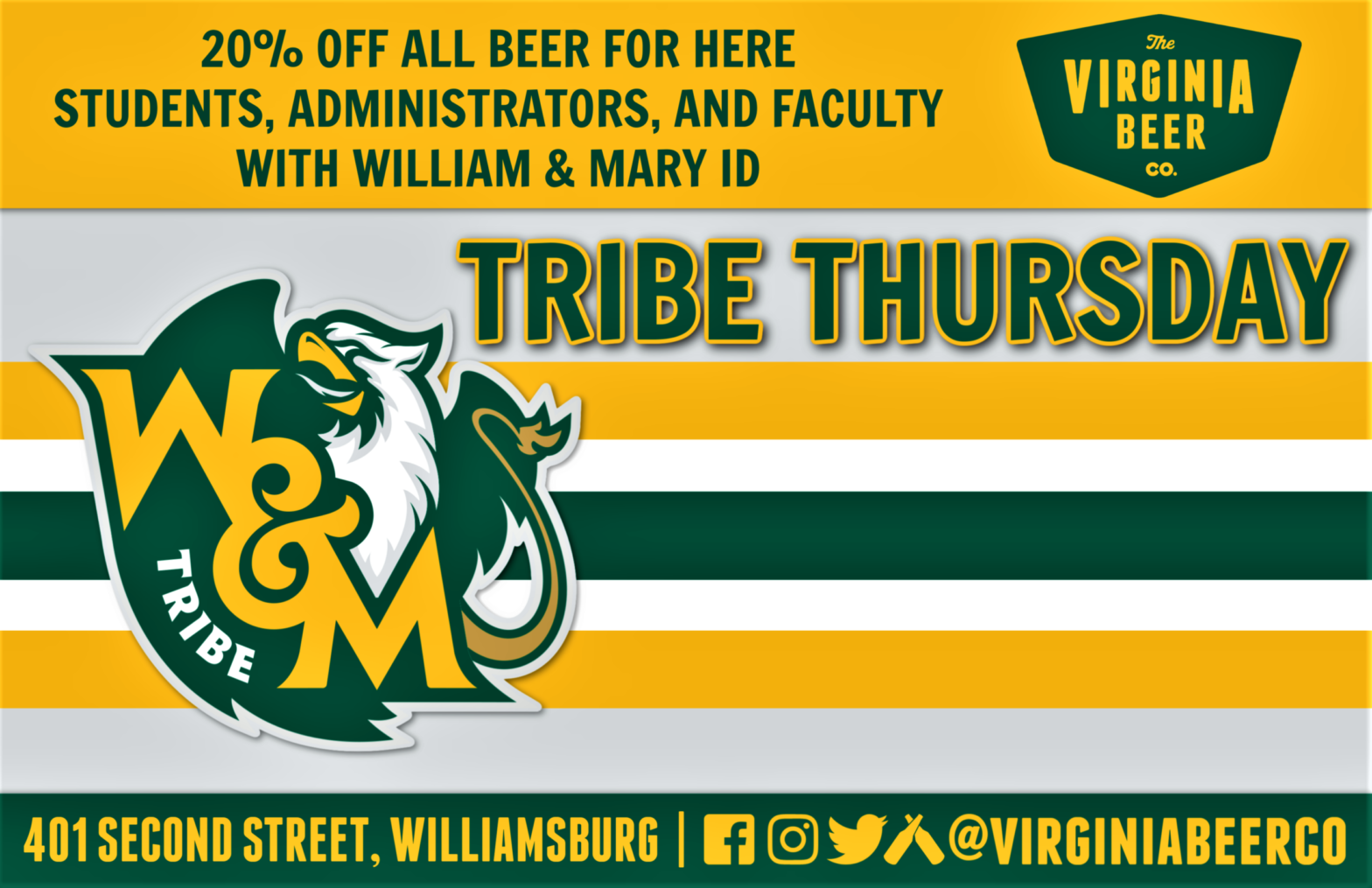 Tribe Thursday Promotion